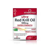 Vitabiotics Red Kril Oil 30 ταμπλέτες