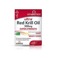 Vitabiotics Red Kril Oil 30 ταμπλέτες