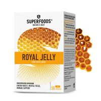 Superfoods Royal Jelly 175mg Βασιλικός Πολτός 50 κάψουλες