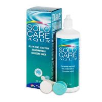 Solocare Aqua All-in-One Solution Υγρό για Φακούς Επαφής 360ml