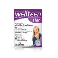 Vitabiotics Wellteen Πολυβιταμίνη για Έφηβο Κορίτσι 30 ταμπλέτες