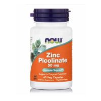 Now Zinc Picolinate 50mg 60 Veg Capsules