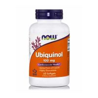 Now Ubiquinol 100mg 60 Softgels