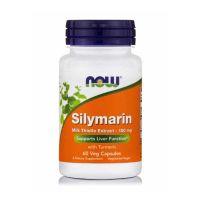 Now Silymarin Milk Thistle Extract 150mg 60 Veg Capsules