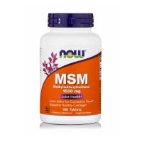 Now MSM 1500mg 100 Tablets