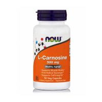 Now L-Carnosine 500mg 50 Veg Capsules