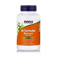 Now Artichoke Extract 450mg 90 Veg Capsules