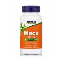 Now Maca 500mg 100 Veg Capsules