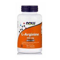 Now L-Arginine 500mg 100 Capsules