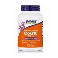 Now CoQ10 600mg 60 Softgels