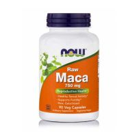 Now Raw Maca 750mg 90 Veg Capsules