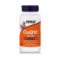 Now CoQ10 30mg 60 Veg Capsules