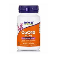 Now CoQ10 100mg 30 Veg Capsules