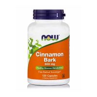 Now CinnamonBark 600mg 120 Capsules