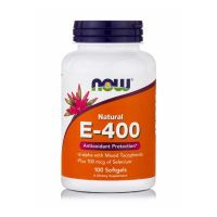 Now Natural E-400 100 Softgels