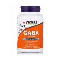 Now GABA 500mg 100 Veg Capsules