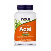 Now Freeze-Dried Acai 500mg 100 Veg Capsules