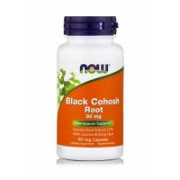 Now Black Cohosh Root 80mg 90 Veg Capsules