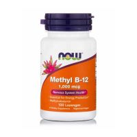 Now Methyl B-12 1000mcg 100 Lozenges