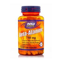 Now Sports Beta-Alamine 750mg 120 Capsules