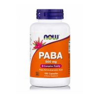 Now PABA 500mg 100 Capsules