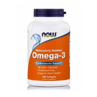 Now Molecularly Distilled Omega-3 100 Softgels
