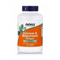 Now Calcium & Magnesium With Vitamin D-3 & Zinc 120 Softgels