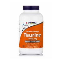Now Double Strength Taurine 1000mg 100 Veg Capsules