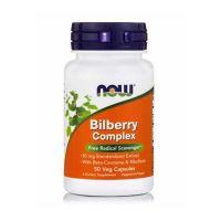 Now Bilberry Complex 50 Veg Capsules