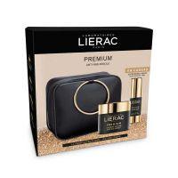 Lierac Premium Set Με Μεταξένια Κρέμα Προσώπου Ημέρας & Νύχτας Απόλυτης Αντιγήρανσης 50ml & Δώρο Κρέμα Αντιγήρανσης Ματιών 15ml
