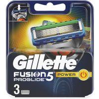 Gillette Fusion Proglide Power Ανταλλακτικές Κεφαλές Ξυρίσματος 3τμχ