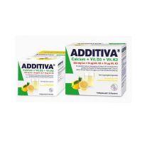 Additiva Ασβέστιο + Βιταμίνη D3 + Βιταμίνη Κ2 20 φακελάκια