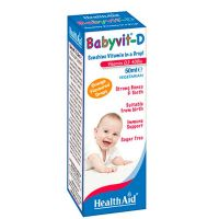 Health Aid Baby Vit D 400iu σε Σταγόνες 0-5 χρονών 50ml
