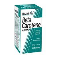 HealthAid Beta Carotene 15mg (23000iu) 30 κάψουλες