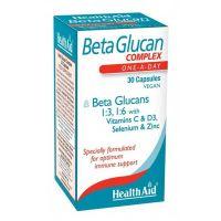 Health Aid Beta Glucan Complex 30 κάψουλες