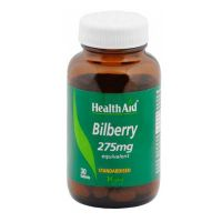 Health Aid Bilberry 275mg Equivalent 30 ταμπλέτες