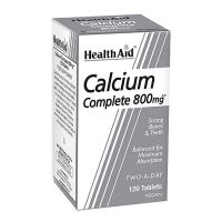 Health Aid Calcium Complete 800mg 120 ταμπλέτες