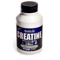 Health Aid Creatine Monohydrate 1000mg 60 ταμπλέτες