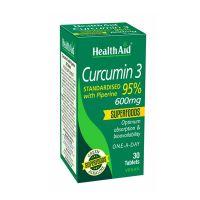 Health Aid Curcumin 3 600mg 30 ταμπλέτες