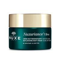 Nuxe Nuxuriance Ultra Κρέμα Νύχτας Για Ολική Αντιγήρανση & Ενίσχυση Της Πυκνότητας Για Όλες Τις Επιδερμίδες 50ml