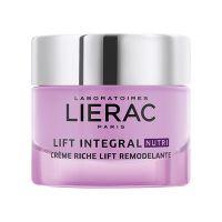 Lierac Lift Integral Nutri Πλούσια Κρέμα Lifting Προσώπου Για Αναδόμηση Για Πολύ Ξηρό Δέρμα 50ml