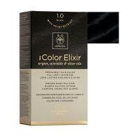 Apivita My Color Elixir Μόνιμη Βαφή Μαλλιών 1.0 Μαύρο
