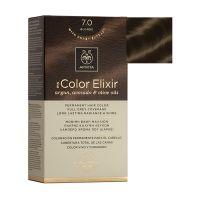 Apivita My Color Elixir Μόνιμη Βαφή Μαλλιών 7.0 Ξανθό