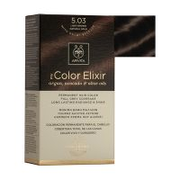 Apivita My Color Elixir Μόνιμη Βαφή Μαλλιών 5.03 Καστανό Ανοιχτό Φυσικό Μελί