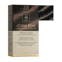 Apivita My Color Elixir Μόνιμη Βαφή Μαλλιών 6.78 Ξανθό Σκούρο Μπεζ Περλέ