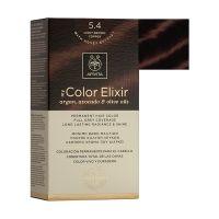 Apivita My Color Elixir Μόνιμη Βαφή Μαλλιών 5.4 Καστανό Ανοιχτό Χάλκινο
