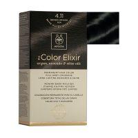 Apivita My Color Elixir Μόνιμη Βαφή Μαλλιών 4.11 Καστανό Έντονο Σαντρέ