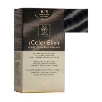 Apivita My Color Elixir Μόνιμη Βαφή Μαλλιών 6.18 Ξανθό Σκούρο Σαντρέ Περλέ