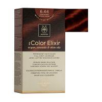 Apivita My Color Elixir Μόνιμη Βαφή Μαλλιών 6.44 Ξανθό Σκούρο Έντονο Χάλκινο