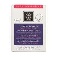 Apivita Συμπλήρωμα Διατροφής Για Υγιή Μαλλιά & Νύχια 30 Κάψουλες
